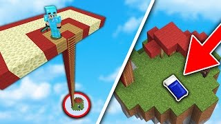 FIRST EVER SKYBASE TROLL in BED WARS!... | Minecraft BED WARS