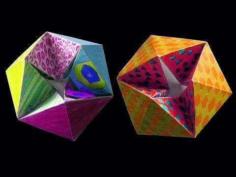 How to make Paper Flexagon : DIY Crafts