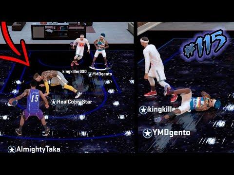 DEMIGOD Gets Ankles BROKE! 13 Year Old Trash Talker!  NBA 2k18 MyCAREER S2 Off Day Ep .115
