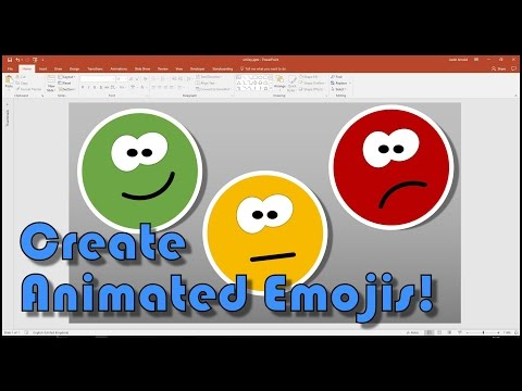 Create Your Own Animated Smiley Emojis In PowerPoint