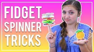 Download EASY FIDGET SPINNER TRICKS FOR BEGINNERS | Kamri Noel Video