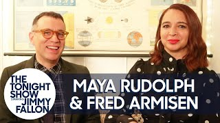 Maya Rudolph and Fred Armisen Write a Jingle for Keanu Reeves
