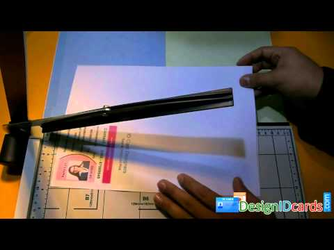 How To Make Design School University Student Employees ID Identity Card Maker Designer Software