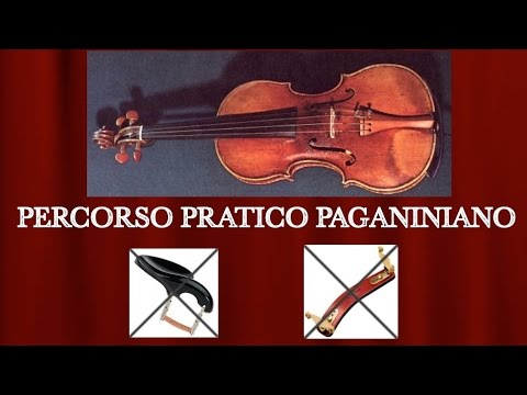 Oleksandr Pushkarenko - Paganini Caprice 24 without chinrest and shoulder rest / Violin Solo