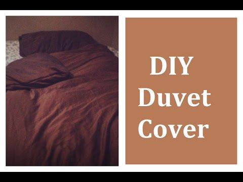 Do It Yourself Easy Duvet Cover | Video Tutorial