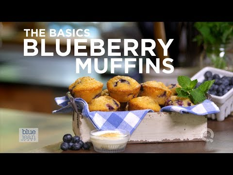 How to Make Blueberry Muffins - The Basics on QVC