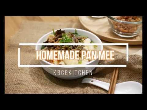 Homemade Pan Mee Recipes