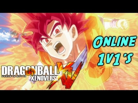 Dragon Ball Xenoverse Online Gameplay 1v1's With Goku God, Beerus and SS4 Vegeta! (XBOX ONE 60FPS)