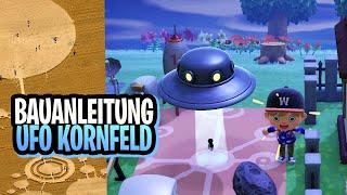 BAUANLEITUNG UFO KORNFELD | ANIMAL CROSSING NEW HORIZONS (deutsch)