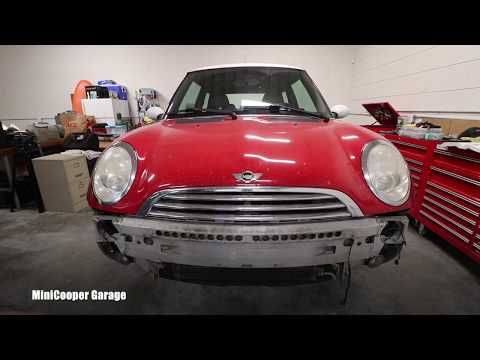 How To Remove Front Bumper Cover on Mini Cooper