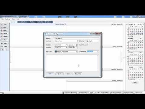 Quickstart - Calendar - Main Application