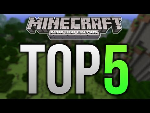 Top 5 Minecraft Xbox 360 Structures - HOTELS