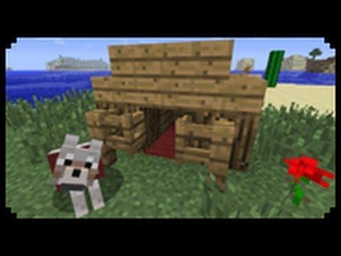 ✔ Minecraft: How to make a Dog House