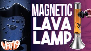 Magnetic Lava Lamp with Ferrofluid