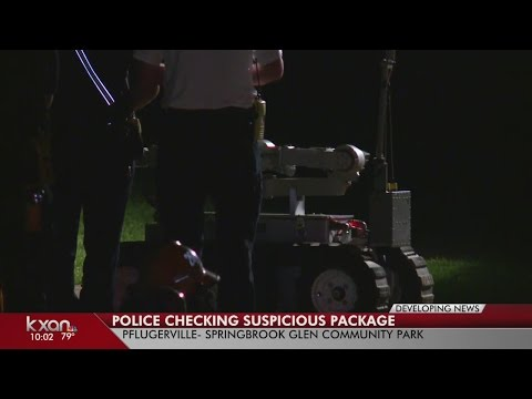 Suspicious device found in a Pflugerville park