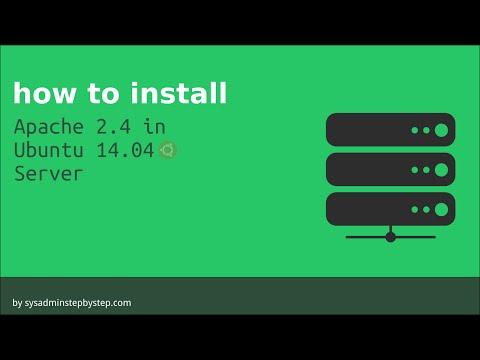How to install Apache 2.4 on ubuntu 14.04