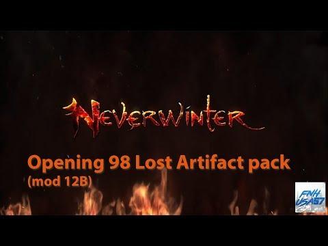 Neverwinter: Opening 98 Lost Artifact pack (mod 12B)