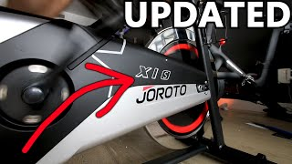 """The Joroto X1S """"Updated"""" is a Budget Friendly Beginner Exercise Bike with Cadence"""