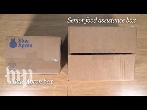 Trump's 'Blue Apron-type' Harvest Box vs. actual Blue Apron