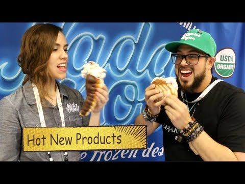 Hot New Vegan Products (Day2 pt2) VLOG & Vegan Meetup