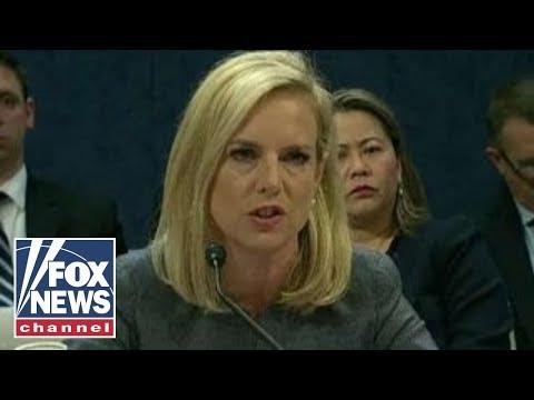 DHS secretary sends warning to illegal immigrant 'caravan'