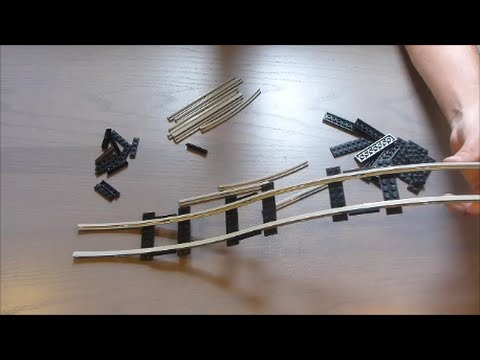 How to make a LEGO Roller Coaster Part 4: Old Track