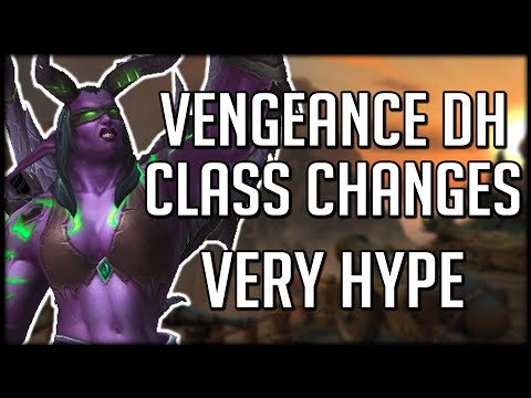 VENGEANCE DEMON HUNTER CHANGES - Huge Improvements Over Legion | WoW Battle for Azeroth