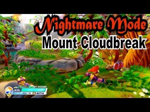 Skylanders Swap Force - Mount Cloudbreak - Nightmare Mode
