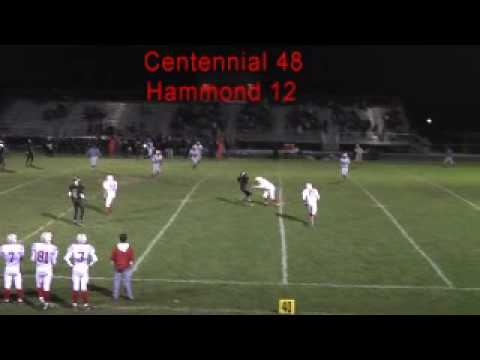 Jacked up: Huge High School football hit by free safety