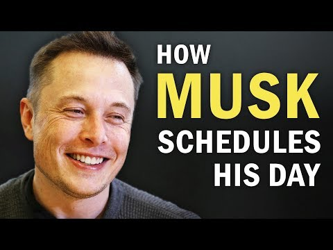 The Method Elon Musk Uses to Manage His Time