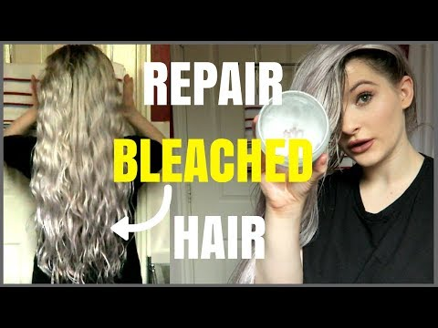 HOW TO USE COCONUT OIL FOR HAIR GROWTH | REPAIR BLEACHED & DAMAGED HAIR!