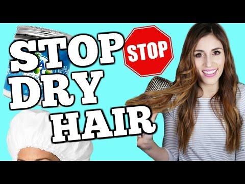 AMAZING DRY HAIR HACKS to Repair Damaged Hair FAST
