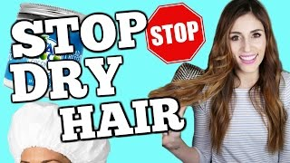 AMAZING DRY HAIR HACKS to Repair Damaged Hair FAST
