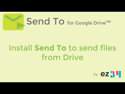 Install Send To for Google Drive(TM)