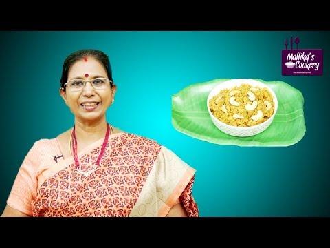 Aval Puttu | Mallika Badrinath | South Indian Evening Snacks Recipes in Tamil