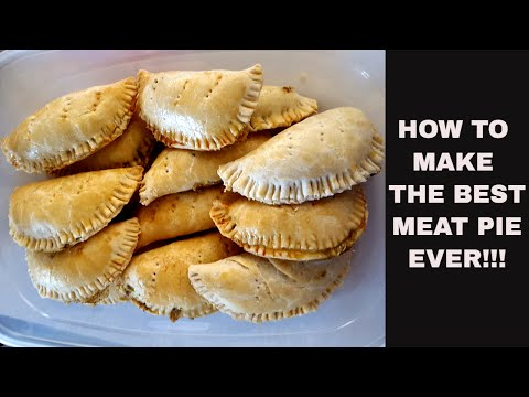 HOW TO MAKE THE BEST MEAT PIE/JAMAICAN BEEF PATTY