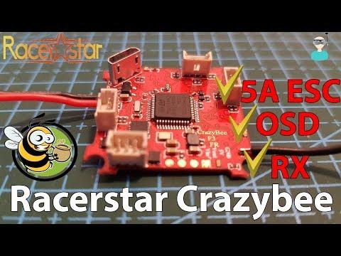 Racerstar Crazybee - Review, Setup & Test Flight