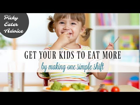 WANT YOUR KIDS TO EAT MORE AT DINNER? MAKE THIS 1 SIMPLE SHIFT!
