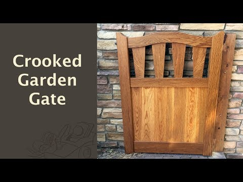 Crooked Garden Gate