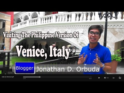 Visiting The Philippine Version Of Venice Italy - VENICE PIAZZA
