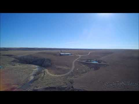 2018/02/23 E Cross Auction Aerial Video (1,539.8 Acres of Flint Hills Grassland in Chase Co)