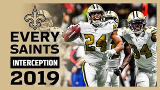 Every Saints Interception from 2019 NFL season | New Orleans Saints