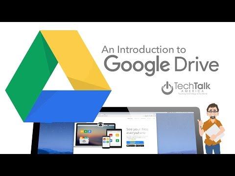 Intro to Google Drive