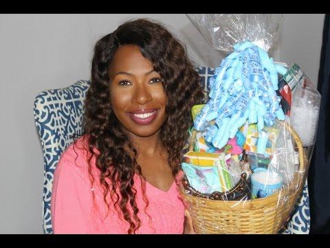 DIY: Dollar Tree Baby Shower Gift Basket made w/freebies!