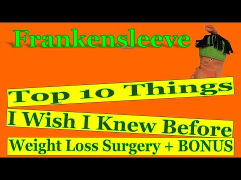 Top 10 Things I Wish I Knew Before Weight Loss Surgery + BONUS