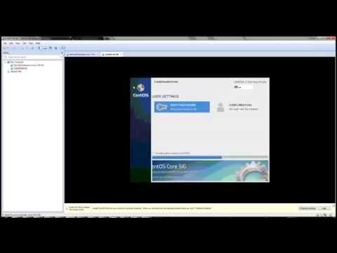 CENTOS 7 installation - less than 4 mins