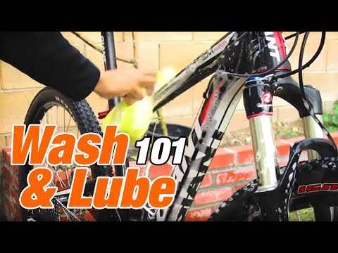 How to Wash & Lube your MTB Mountain Bike HD