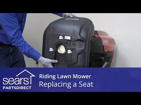 Replacing a Seat on a Riding Lawn Mower