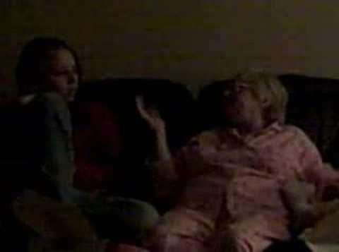 SISTER AND GRANDMA ARGUING ON CHRISTMAS
