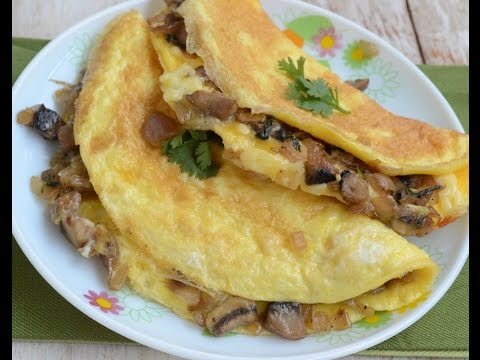 How to Make Mushroom Omelette || Hungry Foods